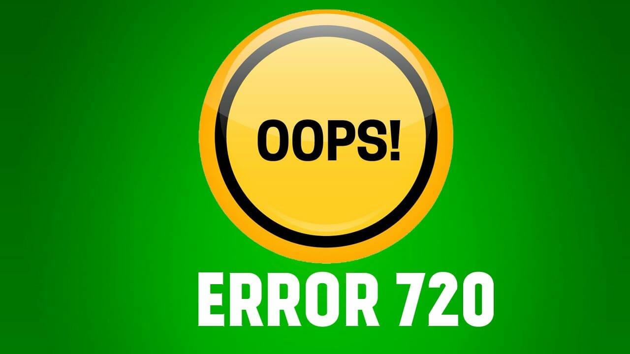 720 error